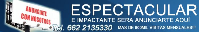 Llamanos al 662 2135330